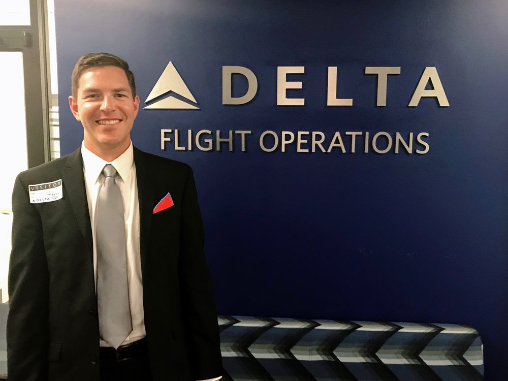 Meeting with Delta's leadership team for a work project was an incredible experience.