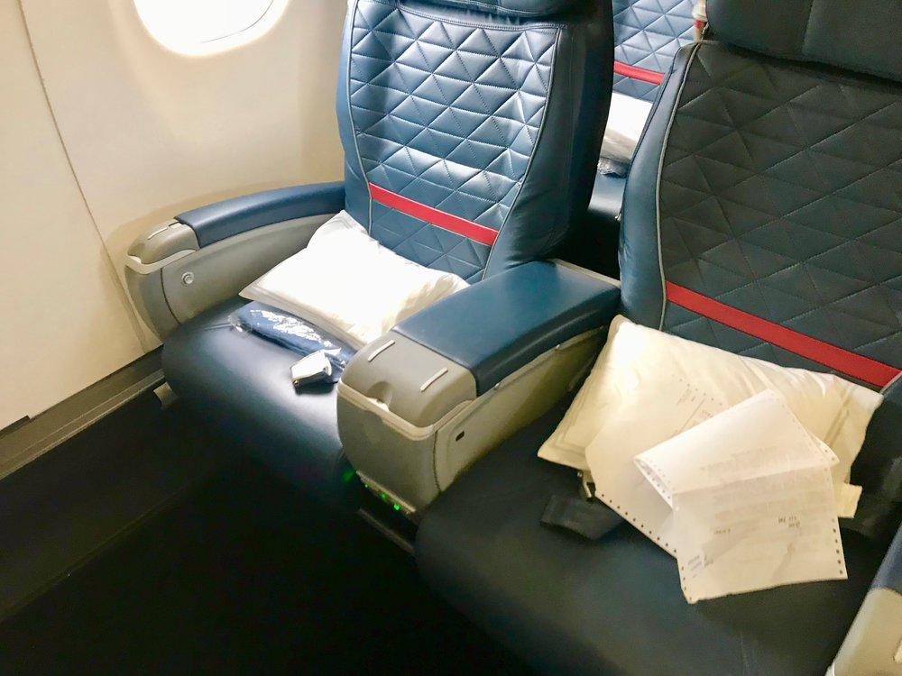 Seat 1D is a window bulkhead seat