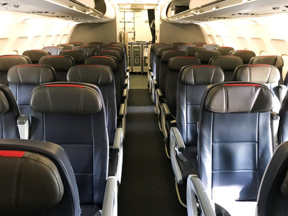 Each seat in Main Cabin has adjustable headrests.