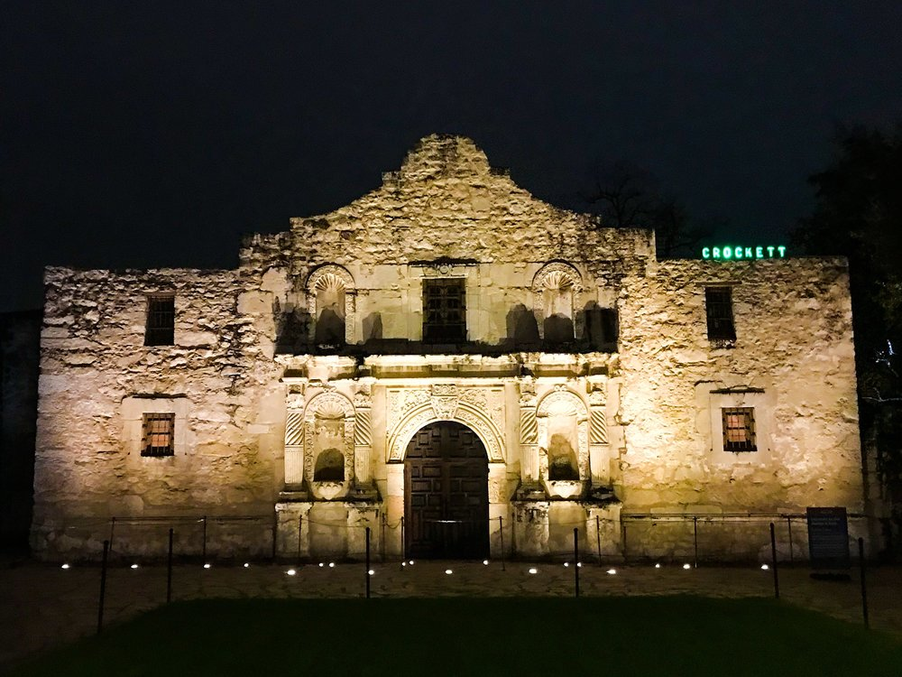 THE ALAMO - Visit the site of the famous Battle of the Alamo