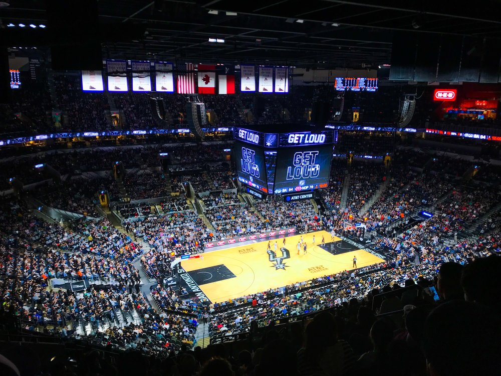 SPURS BASKETBALL - Catch a game at the home of the NBA champion San Antonio Spurs. The season runs from October through April (not including the playoffs).