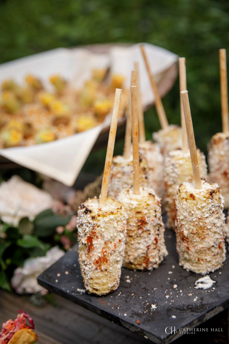 Gourmet Mexican Corn - San Francisco Catering Delivery Service - Fraiche Catering