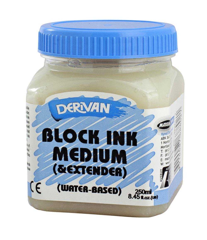 ….BLOCK INK MEDIUM .. ENCRE MEDIUM POUR BLOCK ..ブロックインク・メディウム….