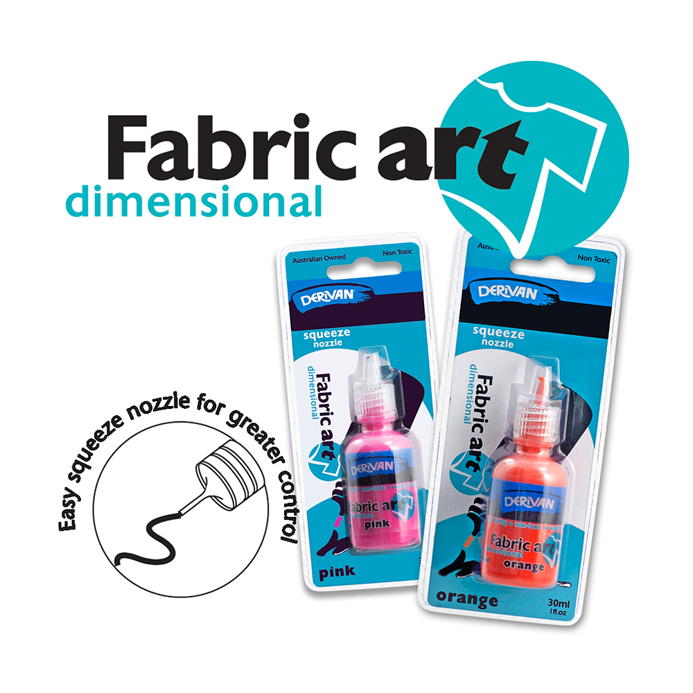 DERIVAN FABRIC ART DIMENSIONAL