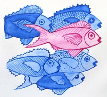 School of fish -