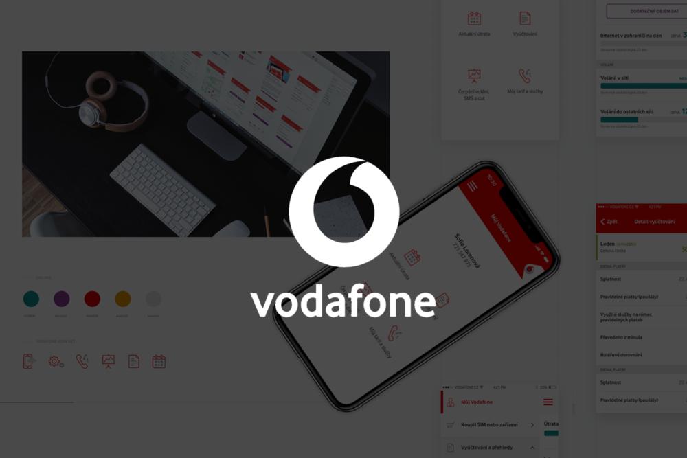 Aplikace na správu služeb VODAFONE