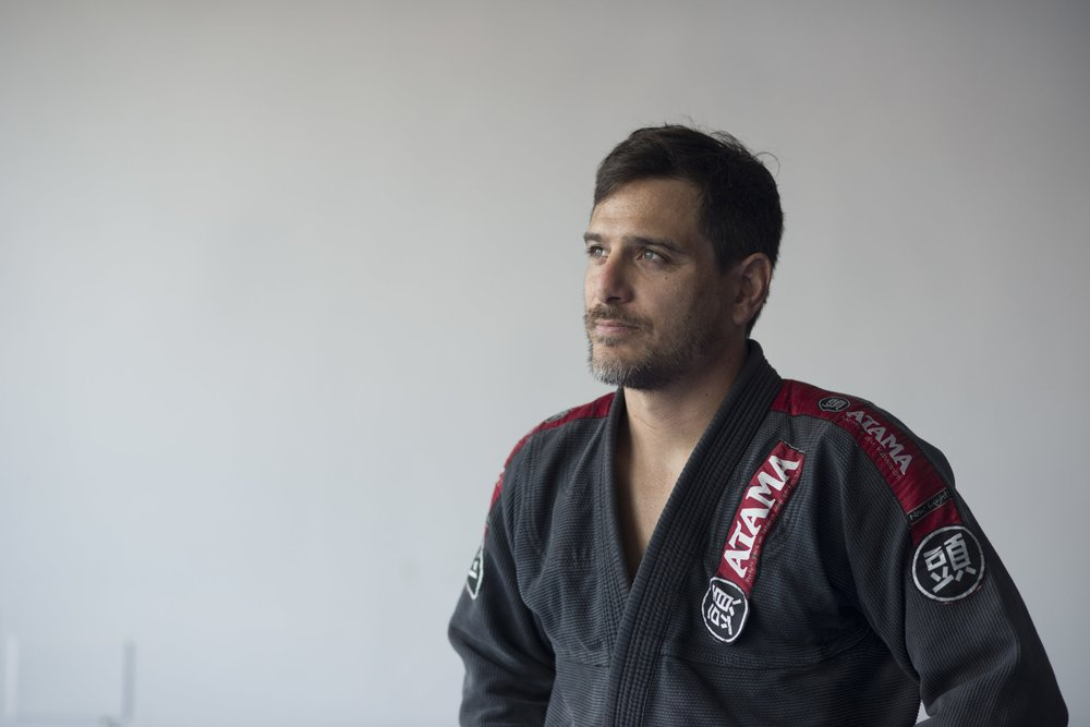 Joe Notebaert- Event Manager/Bookings/ BJJ INSTRUCTOR - Originally from Phoenix Arizona, I now live in Mallorca following a 10 year stint in London England. In London I trained at Roger Gracie Academy and shortly after winning my 2nd IBJJF World Championship at Brown belt Masters I received my black belt from Cesar Lima under the approval of Roger Gracie.I am also a director of a travel agency and I decided to combine my love of travel and my travel planning experience with my love for BJJ by launching the Mallorca BJJ & Yoga Festival-Head instructor at Mallorca BJJ-BJJ Black Belt- IBJJF World Master Brown Belt Champion (2017) purple (2013)