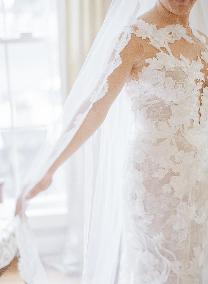 North Carolina Wedding, Events by Reagan, Destination Wedding Planner, Lace wedding dress