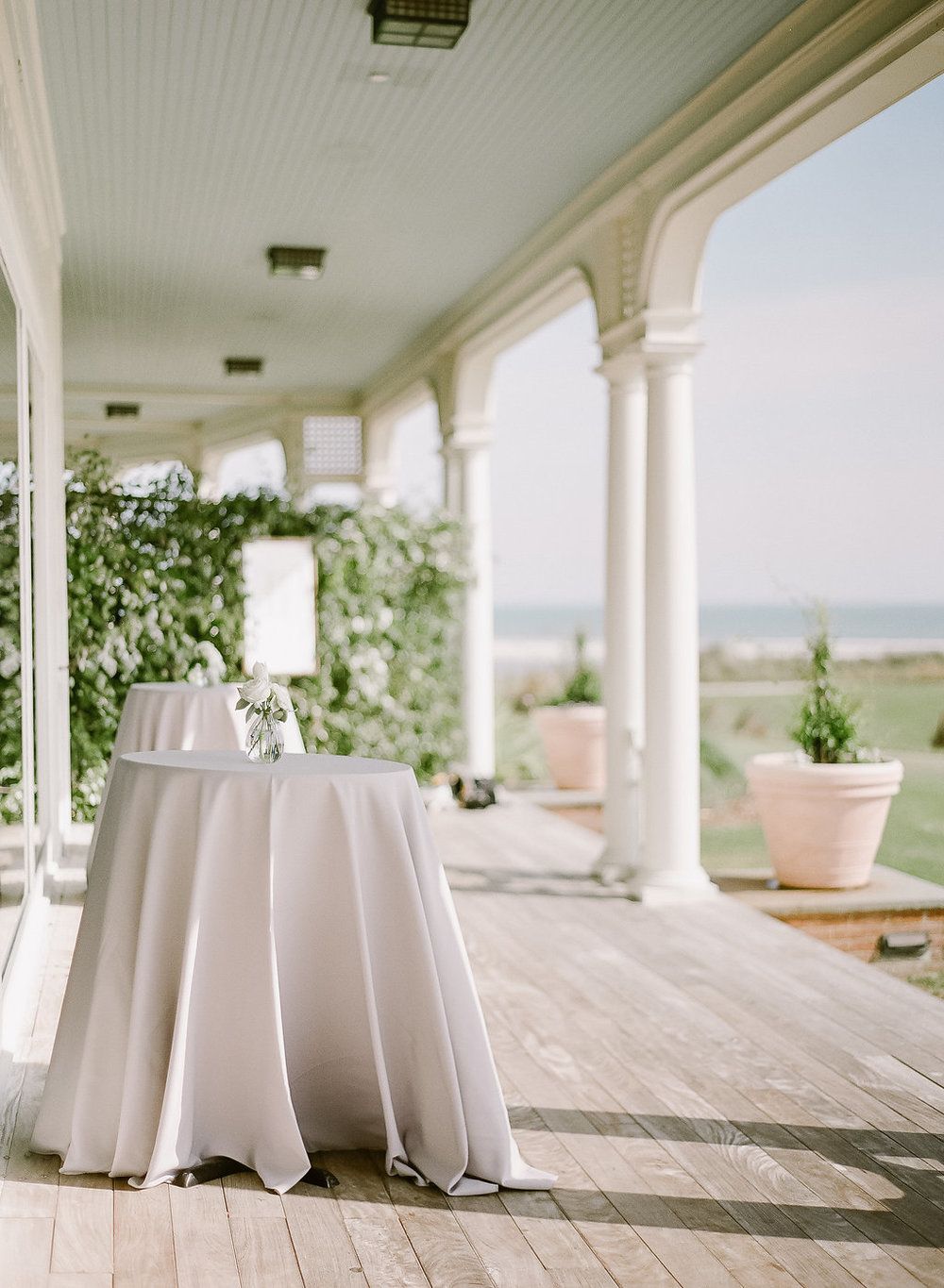 Wedding by the sea, Events by Reagan, Kiawah Wedding, Charleston Wedding Planner, Simple Table Decor