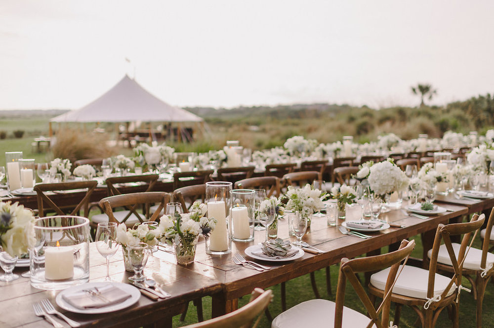 Wedding by the sea, Events by Reagan, Kiawah Wedding, Charleston Wedding Planner, Table Setting