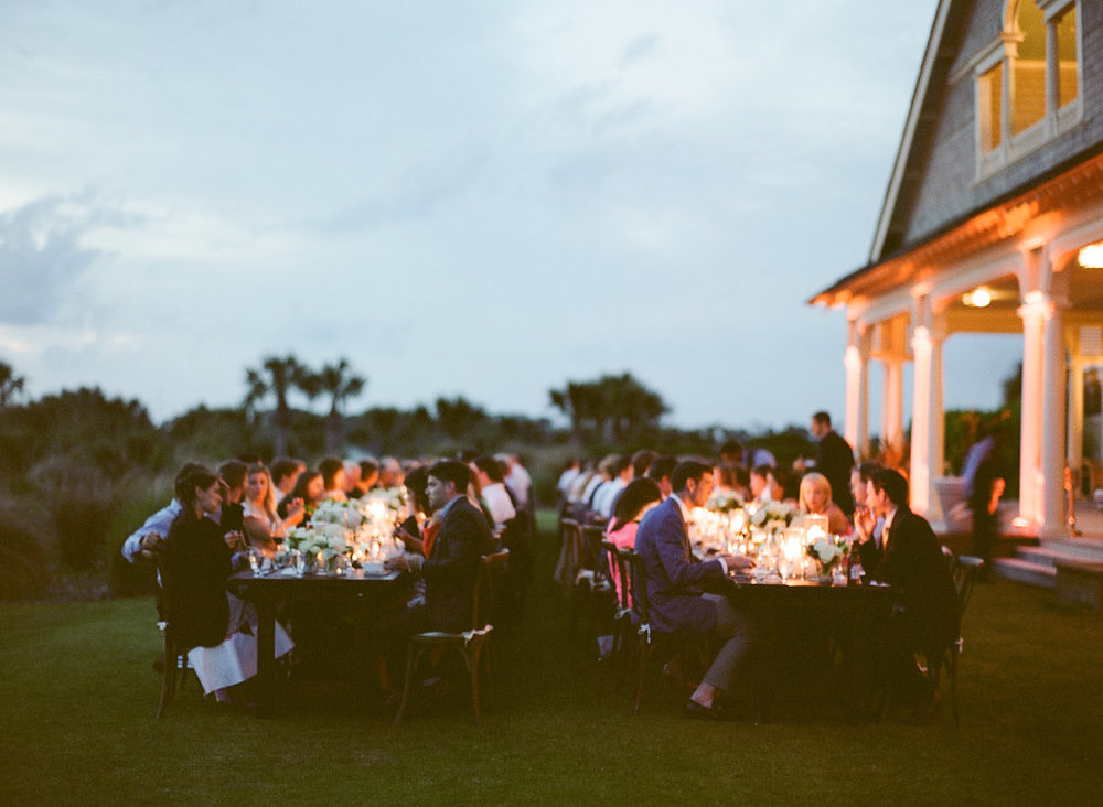 Wedding by the sea, Events by Reagan, Kiawah Wedding, Charleston Wedding Planner, Seated Dinner
