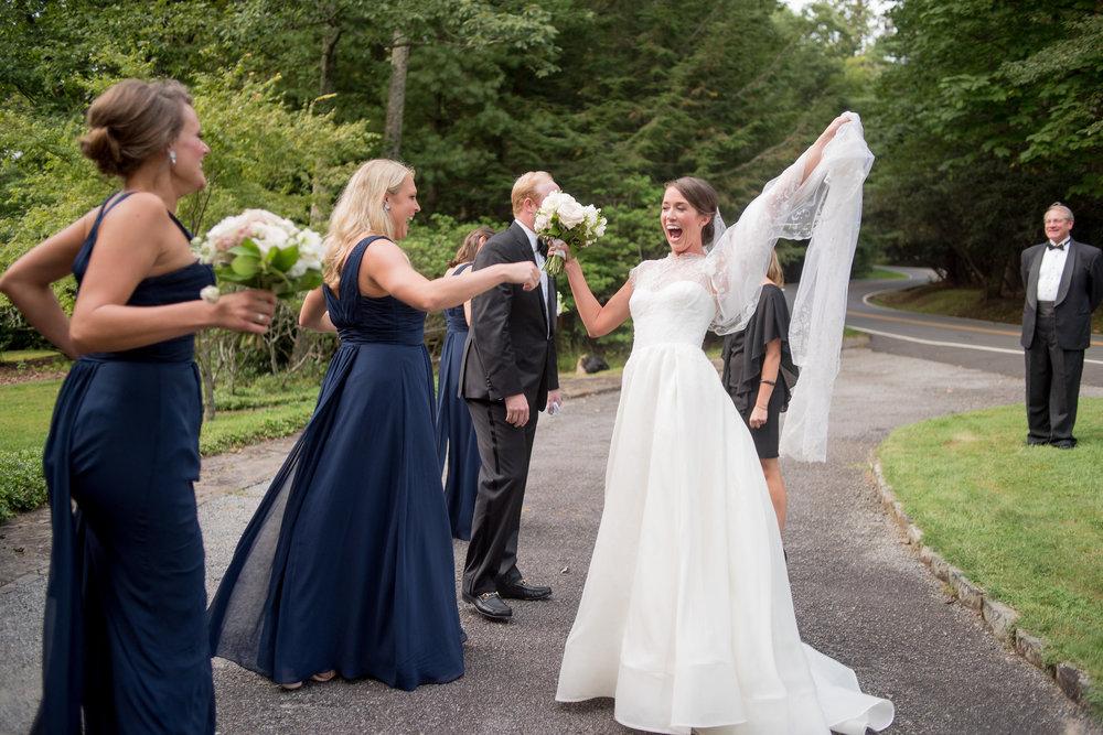 North Carolina Wedding, Events by Reagan, Destination Wedding Planner, Happy Bride, Bridesmaids