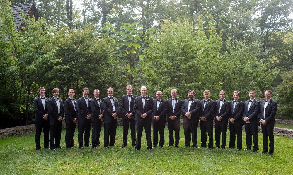 North Carolina Wedding, Events by Reagan, Destination Wedding Planner, Groom, Groomsmen