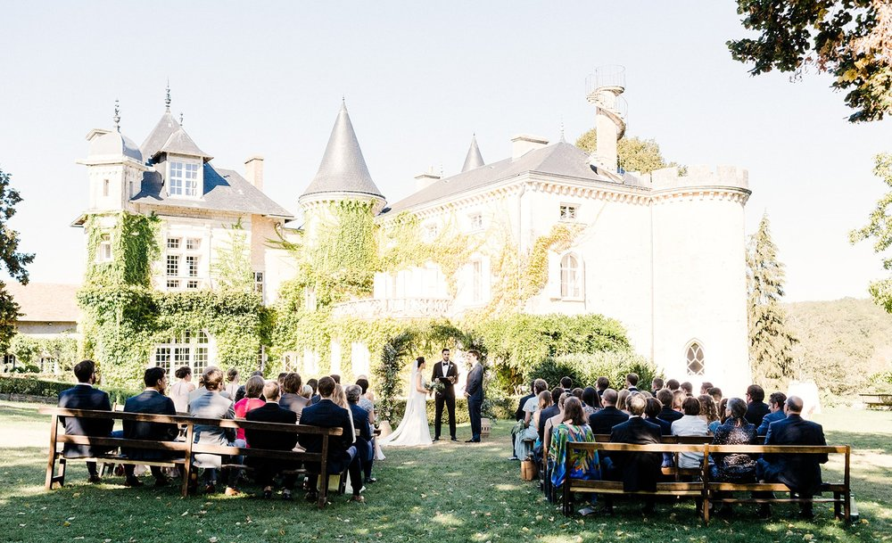 French Chateau Wedding, Events by Reagan, France Wedding, Destination Wedding Planner, Ceremony