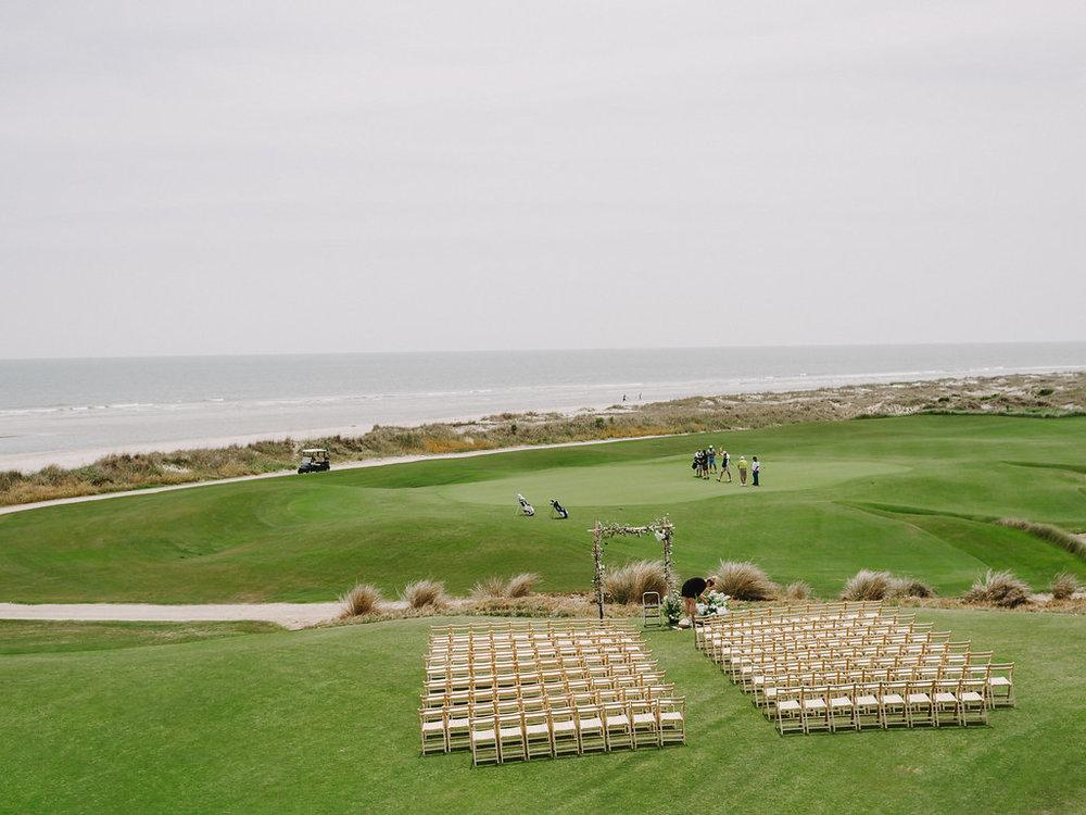 Events by Reagan, Ocean Course Wedding, Ceremony, Kiawah, Charleston, Destination Wedding