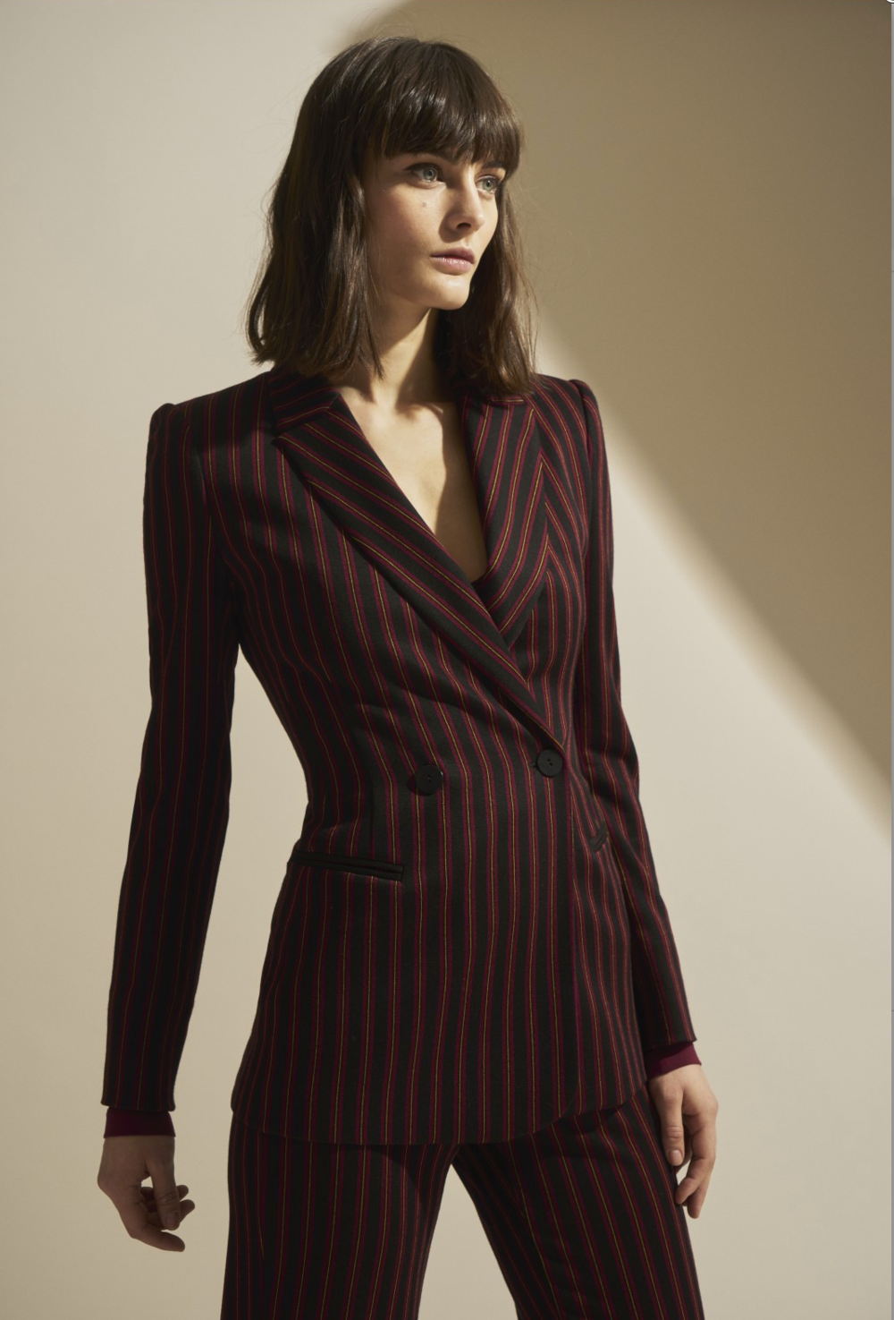 Isabel de Pedro suit in store now.