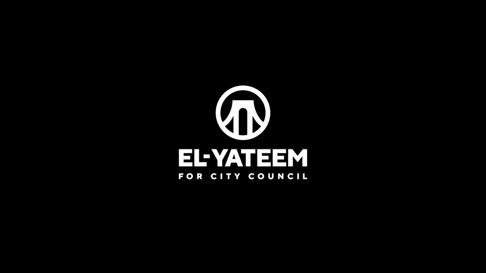 Unproduced logo system for El-Yateem for City Council