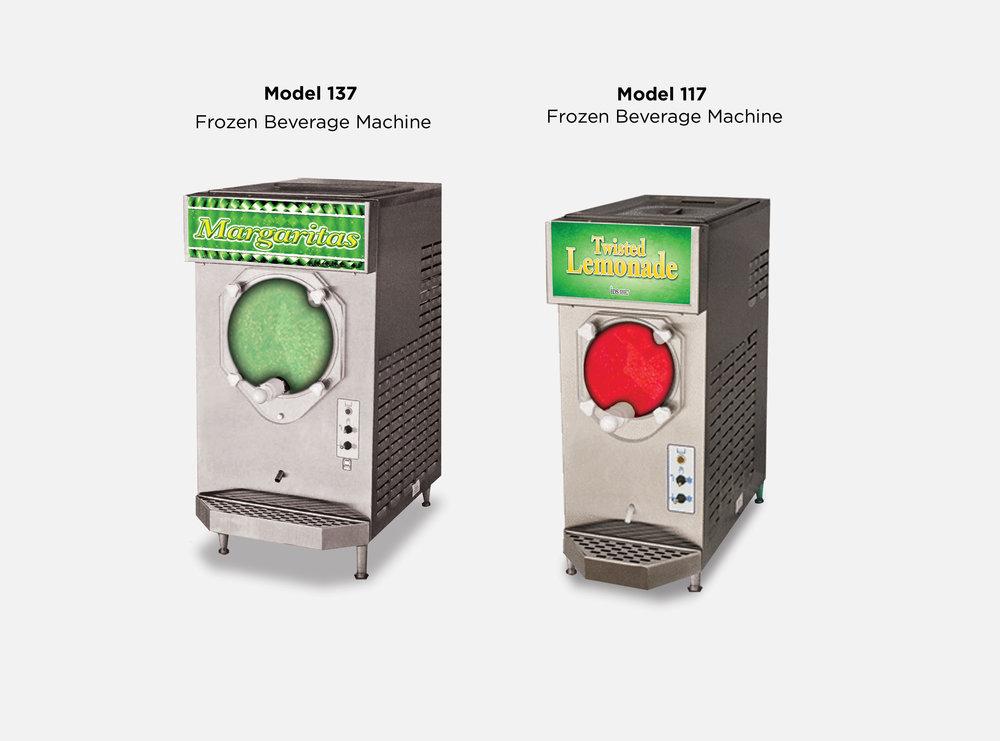 Frozen Beverages Machine