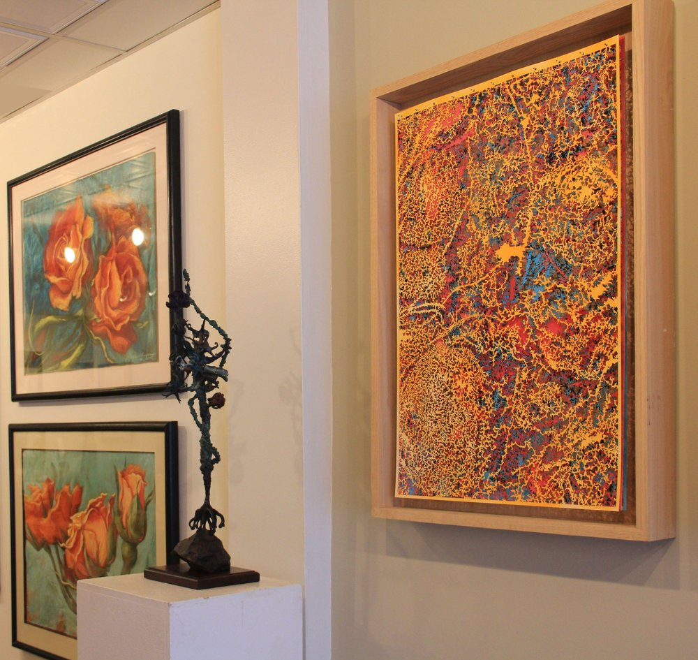 "3 Artists of ""Untamed Garden"" Exhibition at JFCA"