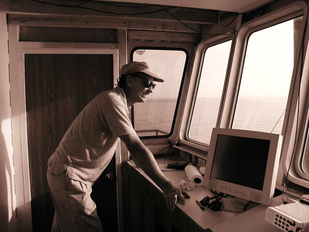 Bob in pilothouse-sepia.jpg