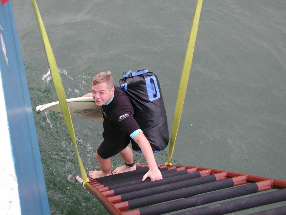 Chris on the ladder 12-10-00.jpg