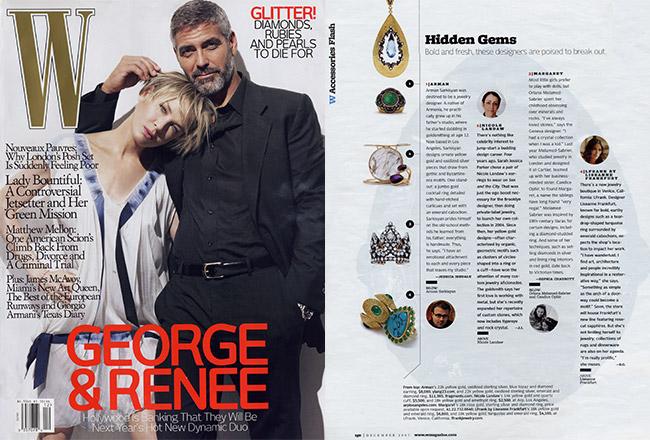 Agatha Cuff and Ring, W Magazine