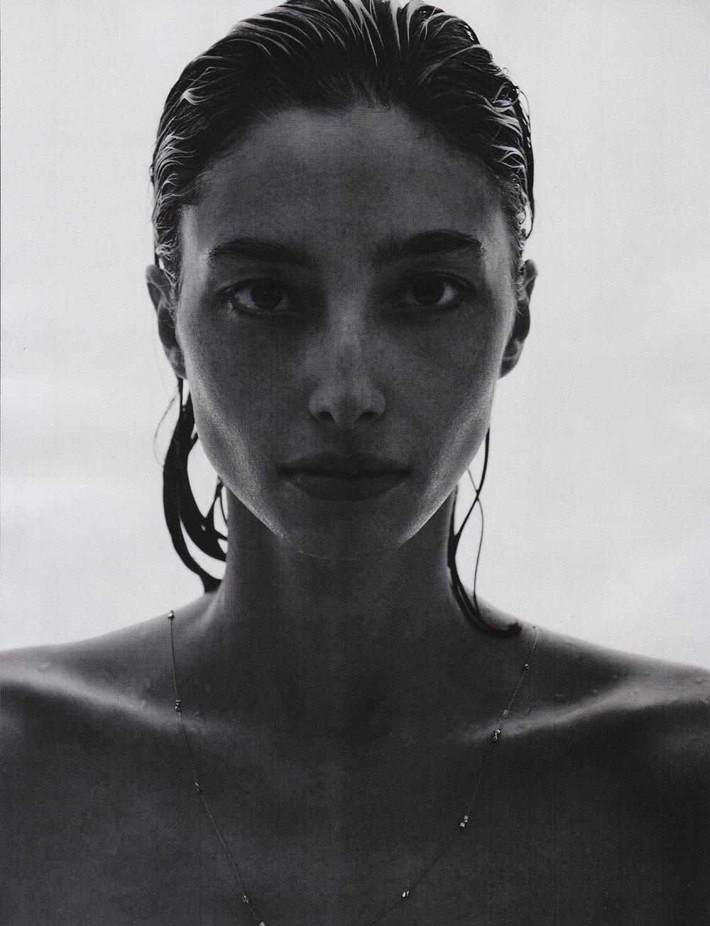 Hewn Pebble Necklace, Vogue Poland