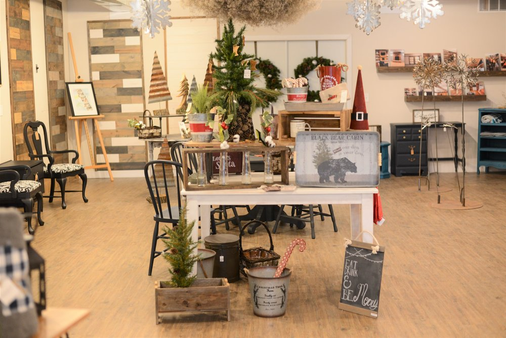 """North Pines Market owner Veronica Marpoe locally sources all the merchandise found in the store. """"We shop small and buy small,"""" Marpoe said. (Carter Jones / Perham Focus)"""