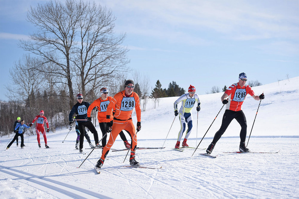 A group takes off at the start of the 38th Annual Buena Vista Snowjourn on May 3 at Buena Vista Ski Area. (Pioneer file photo)