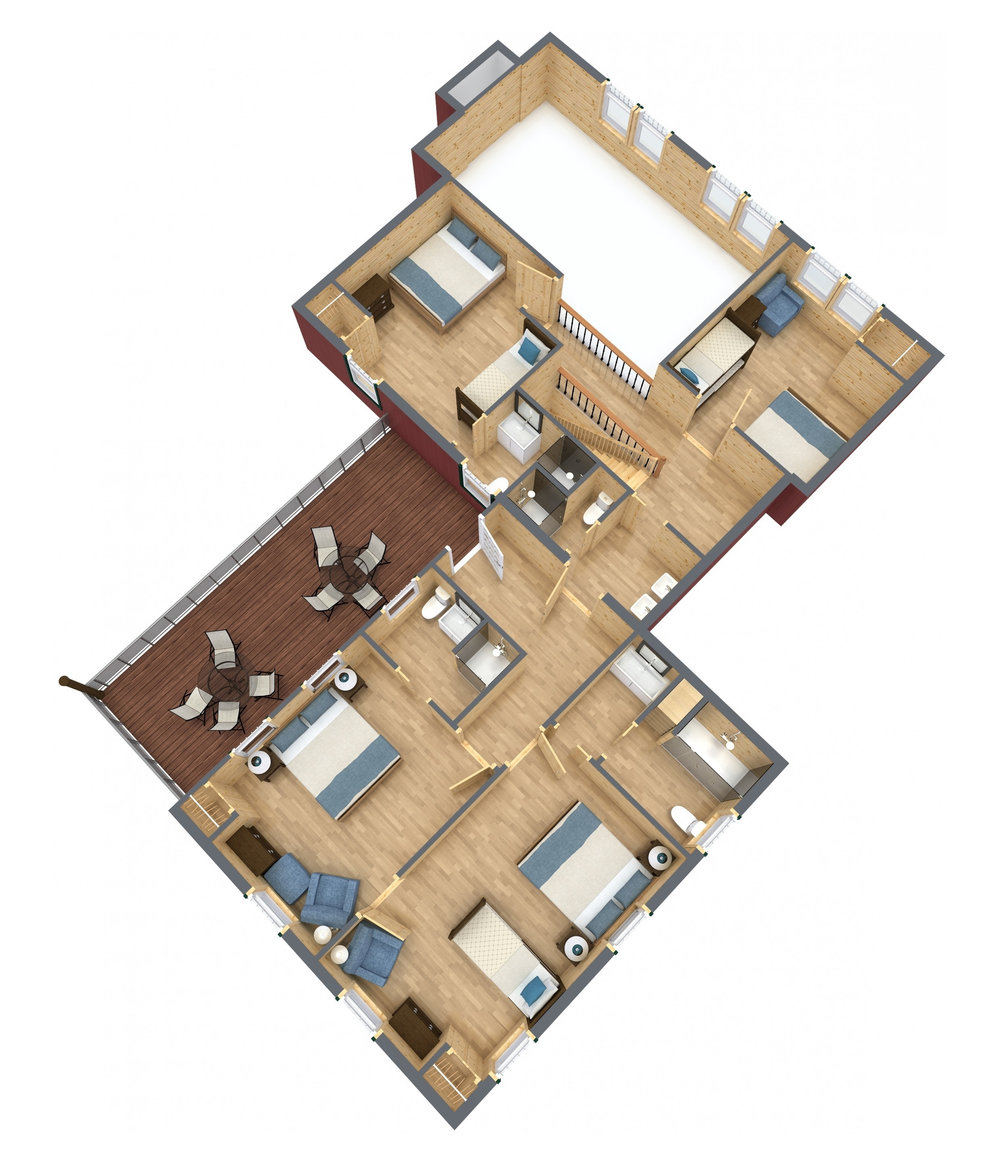 Knotty Pine Lodge - Upper Floor.jpg