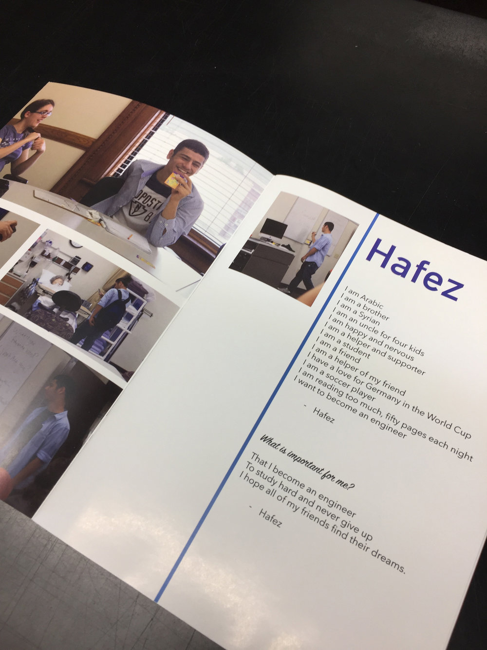 """New Voices and Faces of Oshkosh"" Booklet"