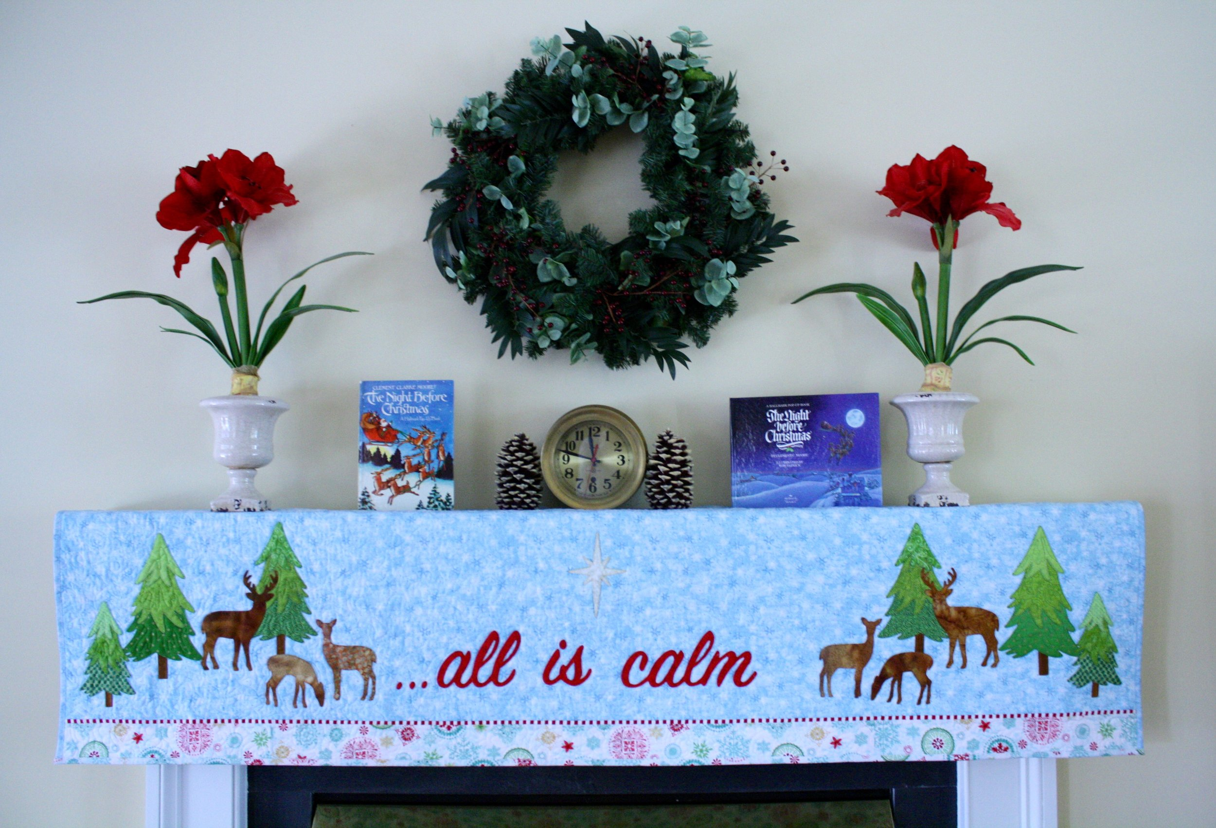 Mantel Cover