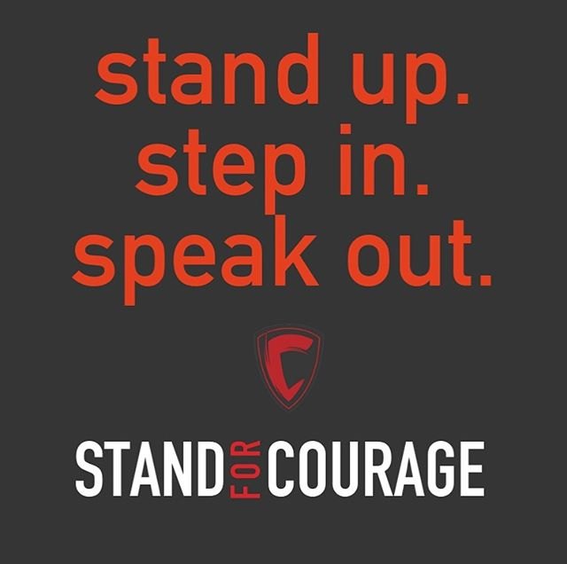 Stand For Courage: The only bullying prevention program that empowers the bystander.  We invite you to a new path forward: http://bit.ly/StandForCourage  #bullying #school #kids #parents #tips #students #highschool #support #community #fundraising #nonprofit #dailygood #beyourbestself #dogood #bebolder #walkyourtruepath