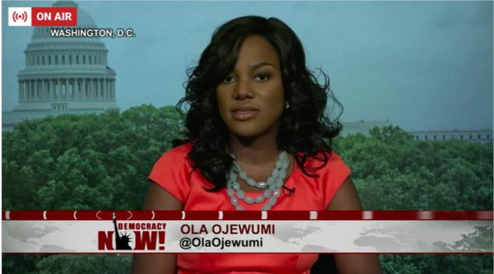 ola ojewumi on air NEW DEMOCRACY