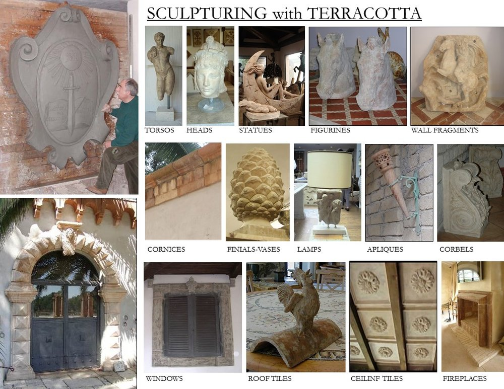 SCULPTURING WITH TERRACOTTA - (CLICK)
