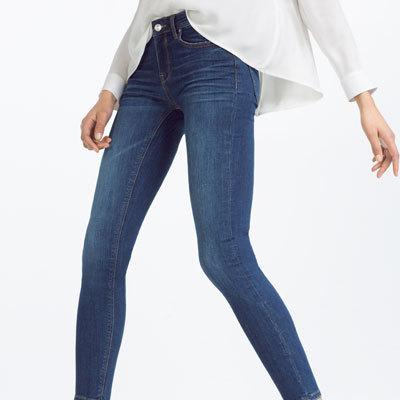 Skinny Mid Rise Jean