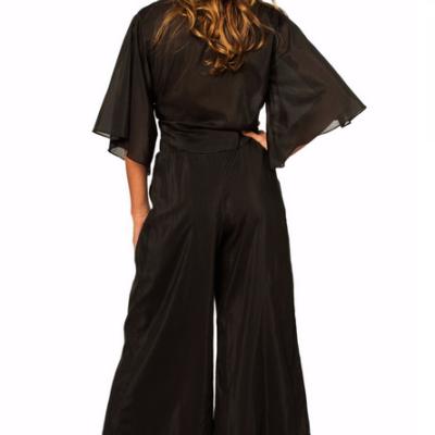 Coco Black Culottes Pants