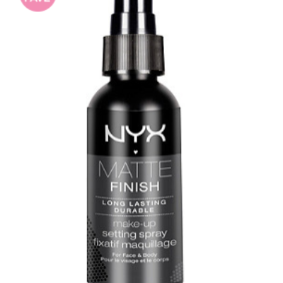 Nyx Matte Finish Spray