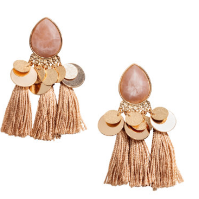 Rose & Gold Earrings