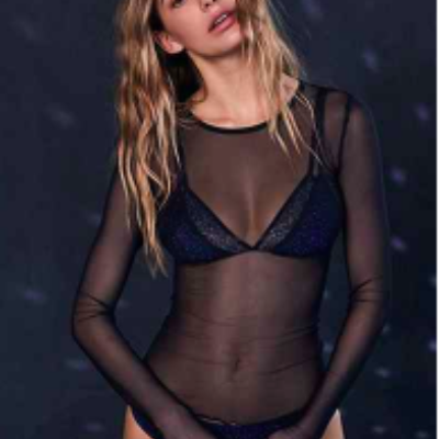 Mesh Lace Top