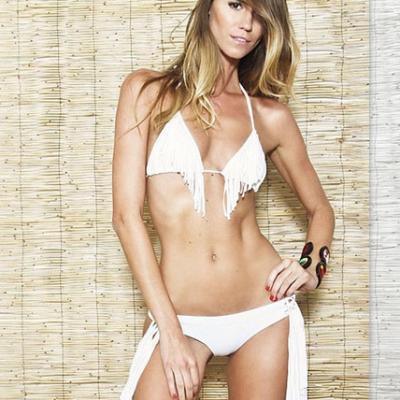 Fringed Bikini Top