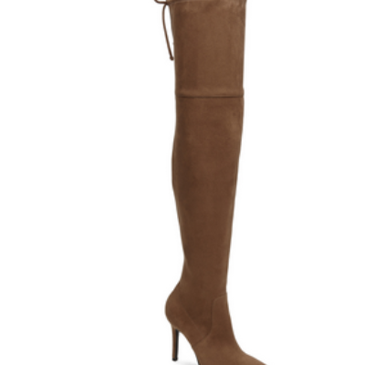 Tan Sued Boots