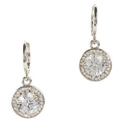 Diamond Tear Earrings