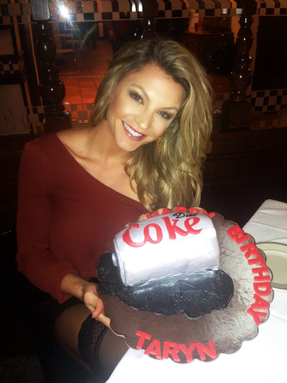 When your good friend knows you all too well and your love for diet coke, you end up with this for your birthday... Thanks Ry! Ha.