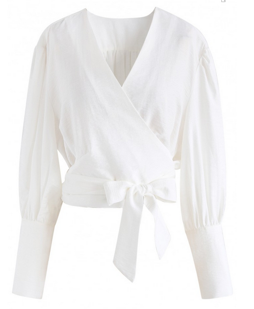Chicwish Wrap Top