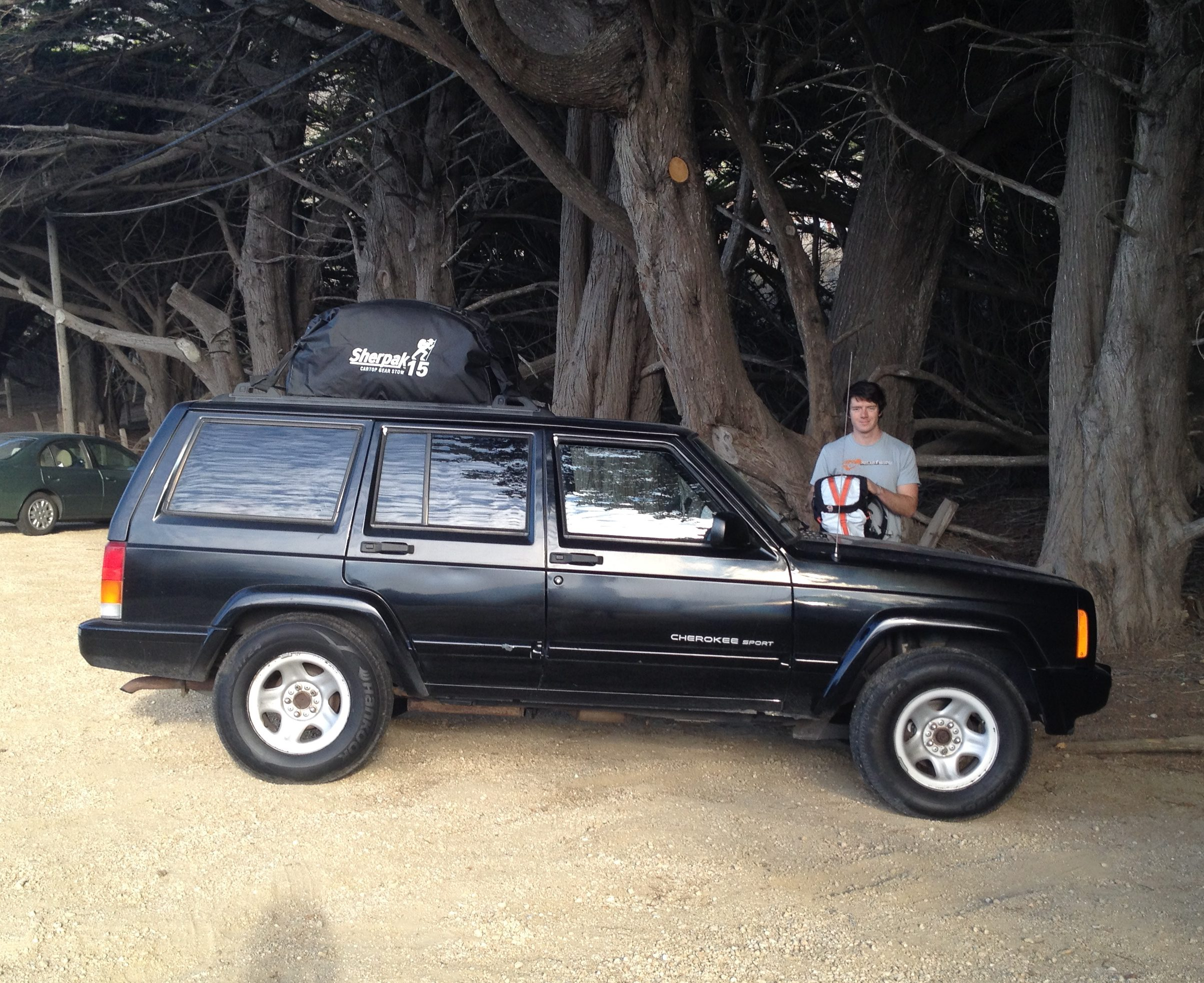 Ralph the Cherokee in Big Sur