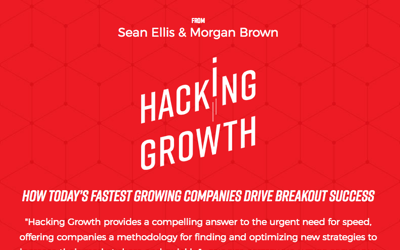 Hacking Growth - Book by Sean Ellis and Morgan Brown