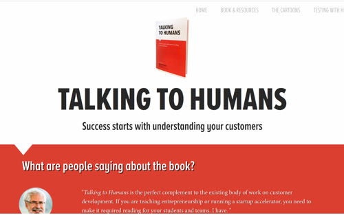 Talking to Humans - Book by Giff Constable