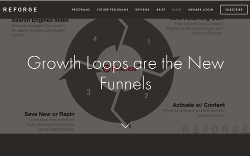 Growth Loops are the New Funnels - Blog Post by Brian Balfour