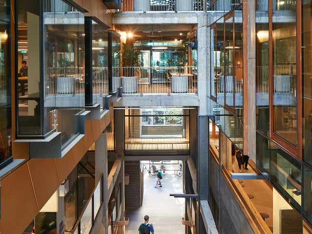 New Academic Street, RMIT University by Lyons with NMBW Architecture Studio, Harrison and White, MvS Architects and Maddison Architects, winner of the The Daryl Jackson Award for Educational Architecture. Photo by Peter Bennetts.